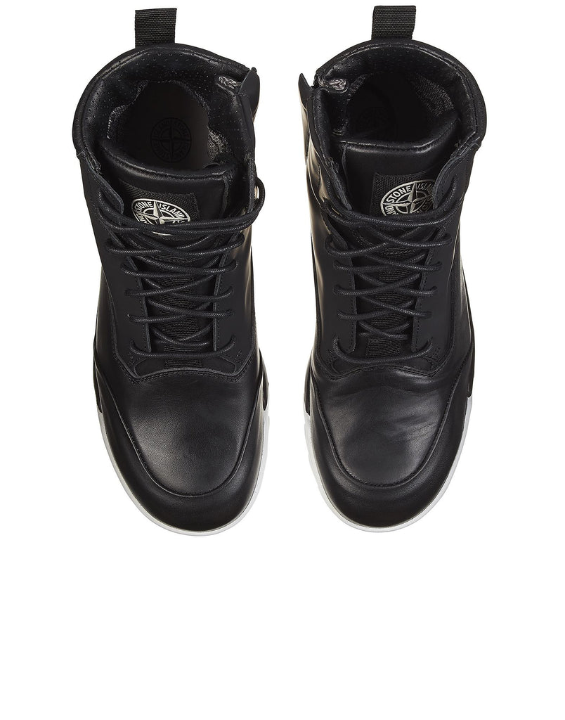 S0366 Waterproof Combat Boot in Black