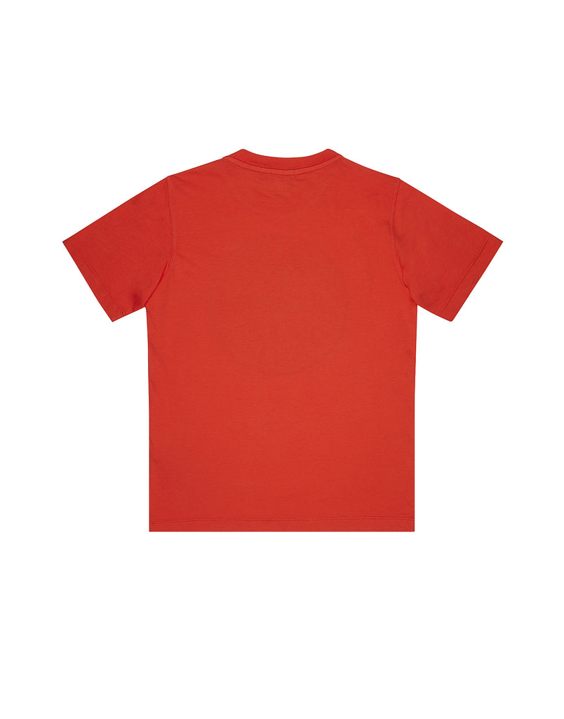 21052 Short Sleeve Compass Logo T-Shirt in Red