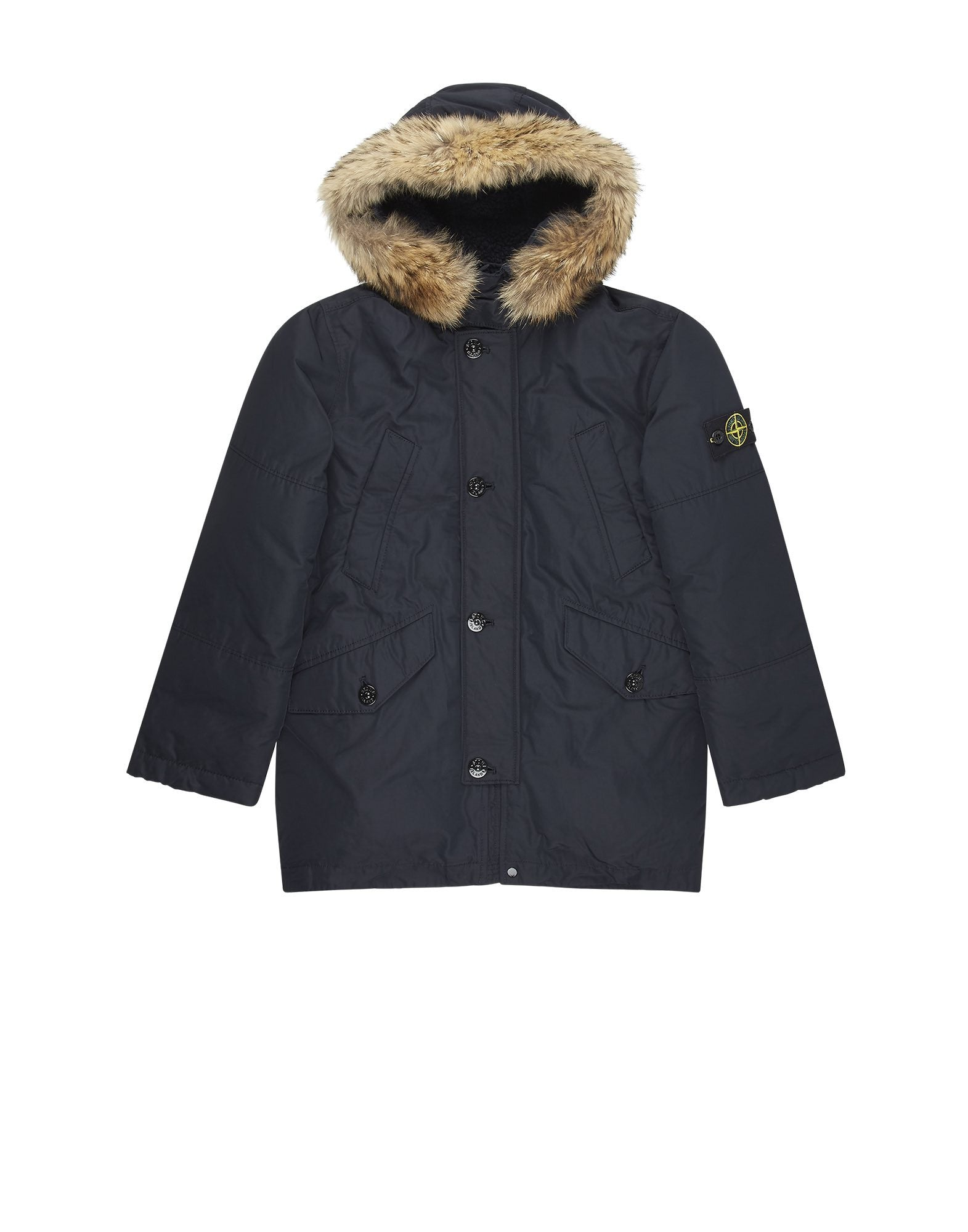 41234 MICRO REPS DOWN Parka in Navy