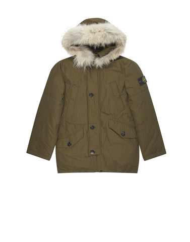 41234 MICRO REPS DOWN Parka in Khaki
