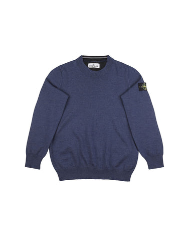 505A4 Wool Sweater in Blue