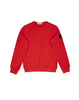 61540 Crew Neck Sweatshirt in Red