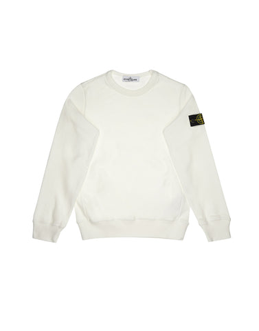 61540 Crew Neck Sweatshirt in White