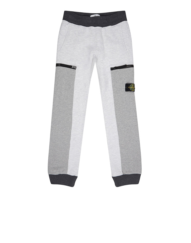 62338 Garment-Dyed Track Pants in Grey