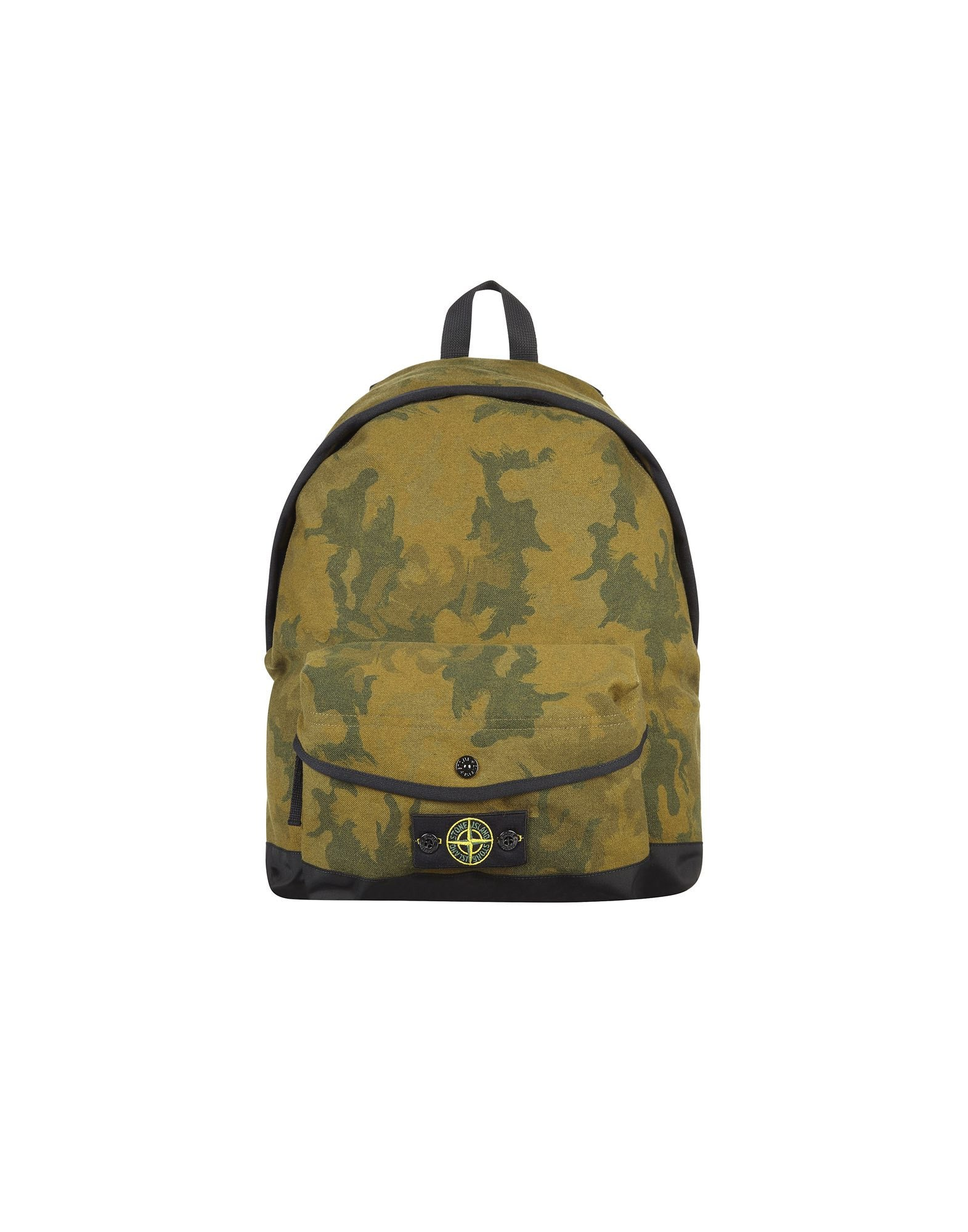 91661 Camouflage Water Resistant Backpack in Green