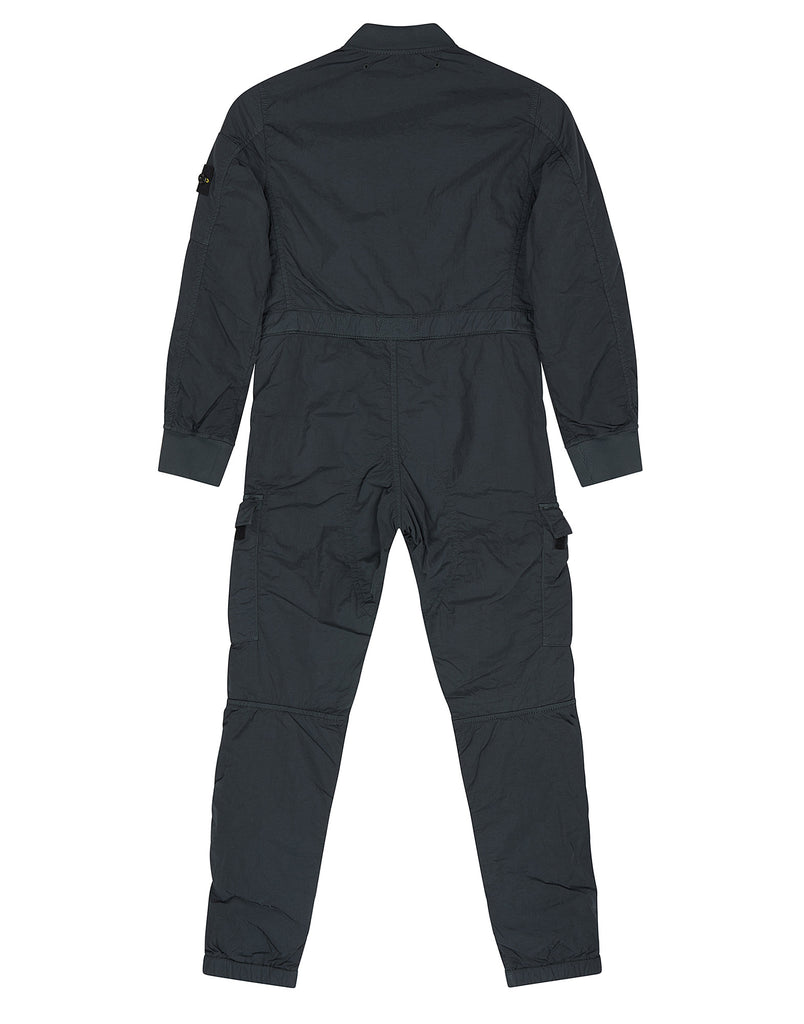 F0118 NYLON METAL Jumpsuit in Grey