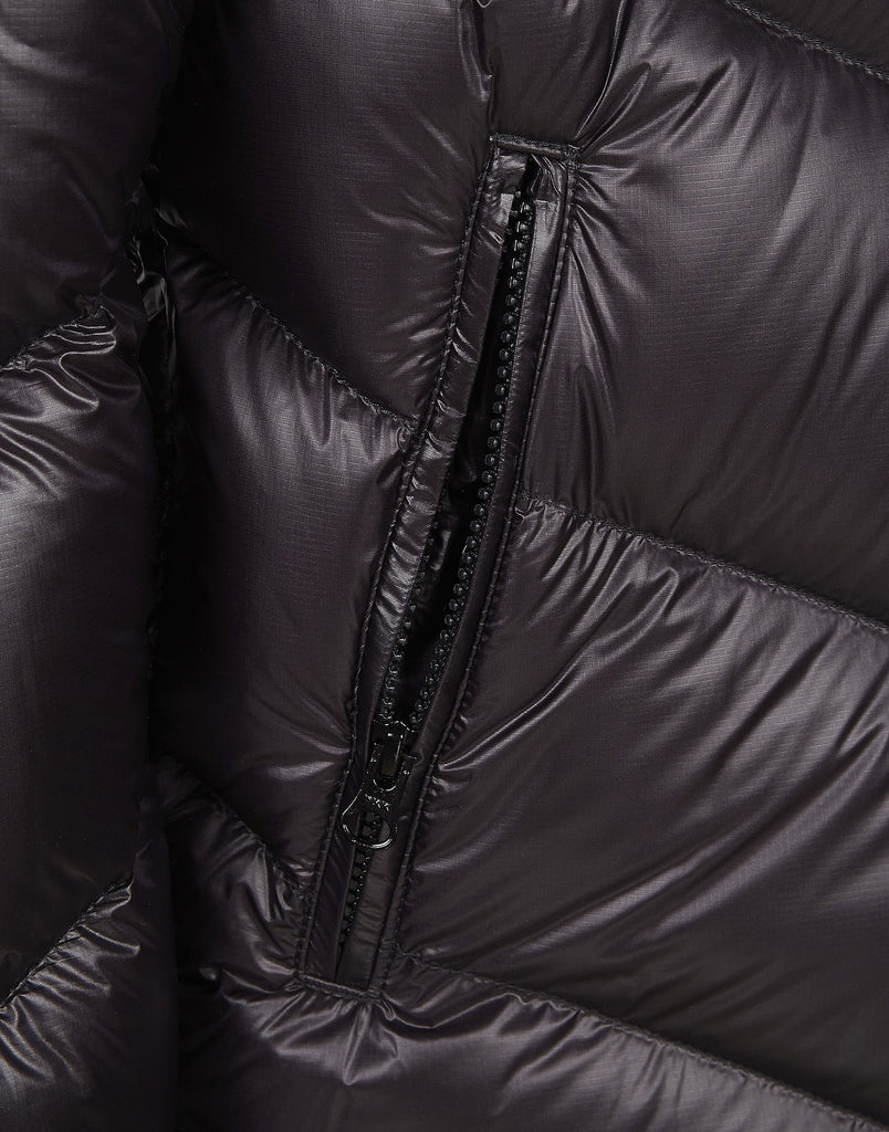 40104 DECONSTRUCT DOWN JACKET _ PERTEX QUANTUM Y HIGH DENSITY DWR SINGLE LAYER FABRIC in Purple