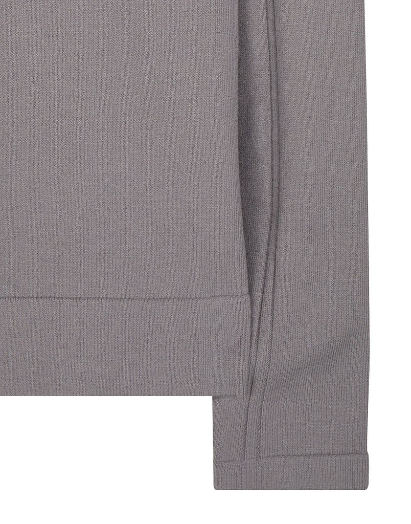 506A6 CREWNECK _ STRETCH WOOL in Grey