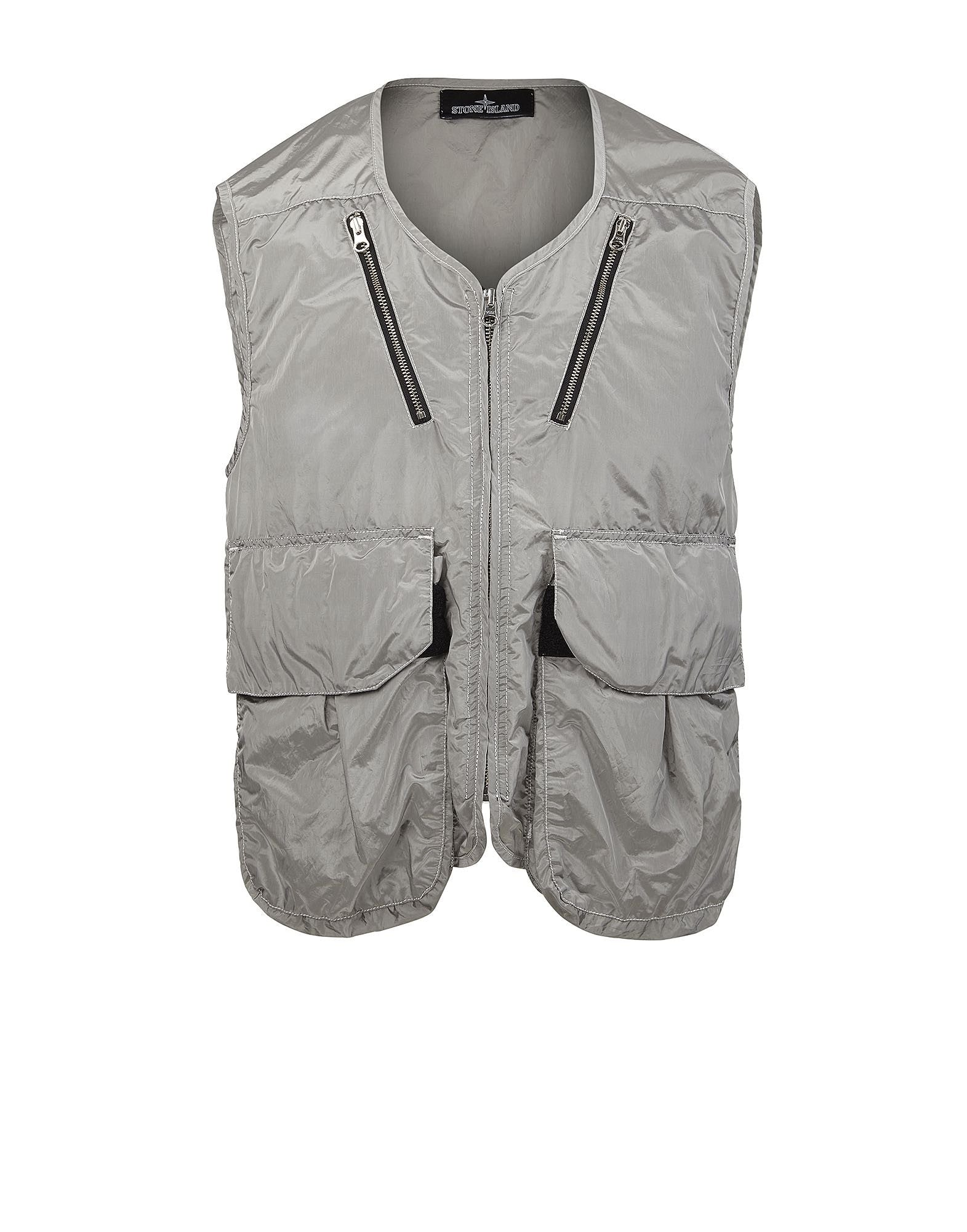 G0106 LIGHT VEST _ NYLON METAL WATRO Vest in Grey
