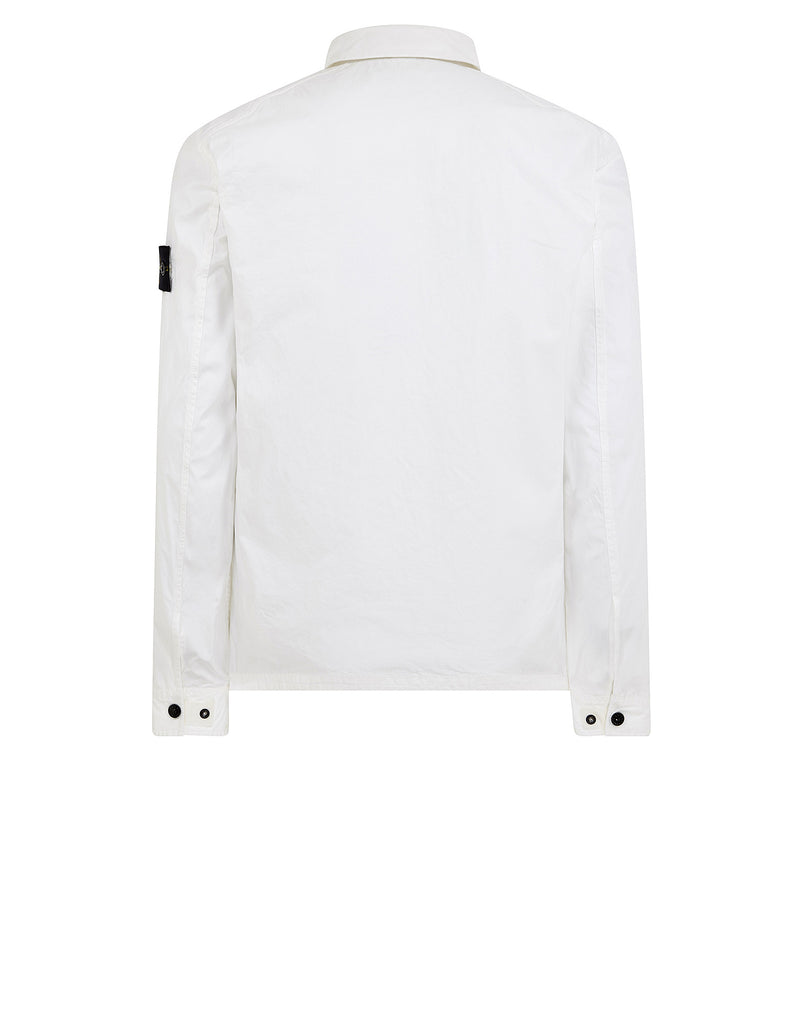 101WN T.CO+OLD Overshirt in White