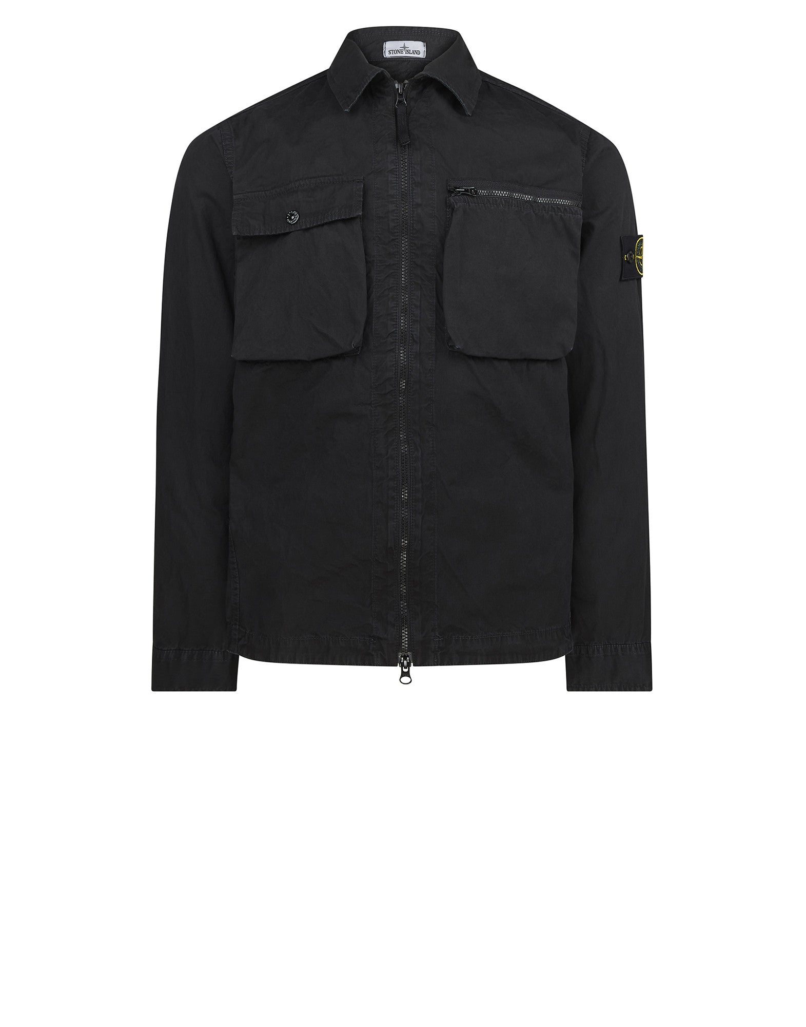 101WN T.CO+OLD Overshirt in Black
