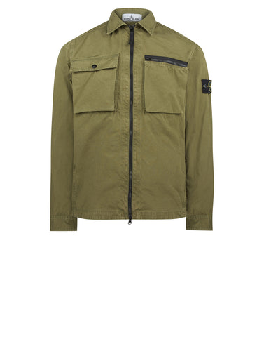 101WN T.CO+OLD Overshirt in Khaki