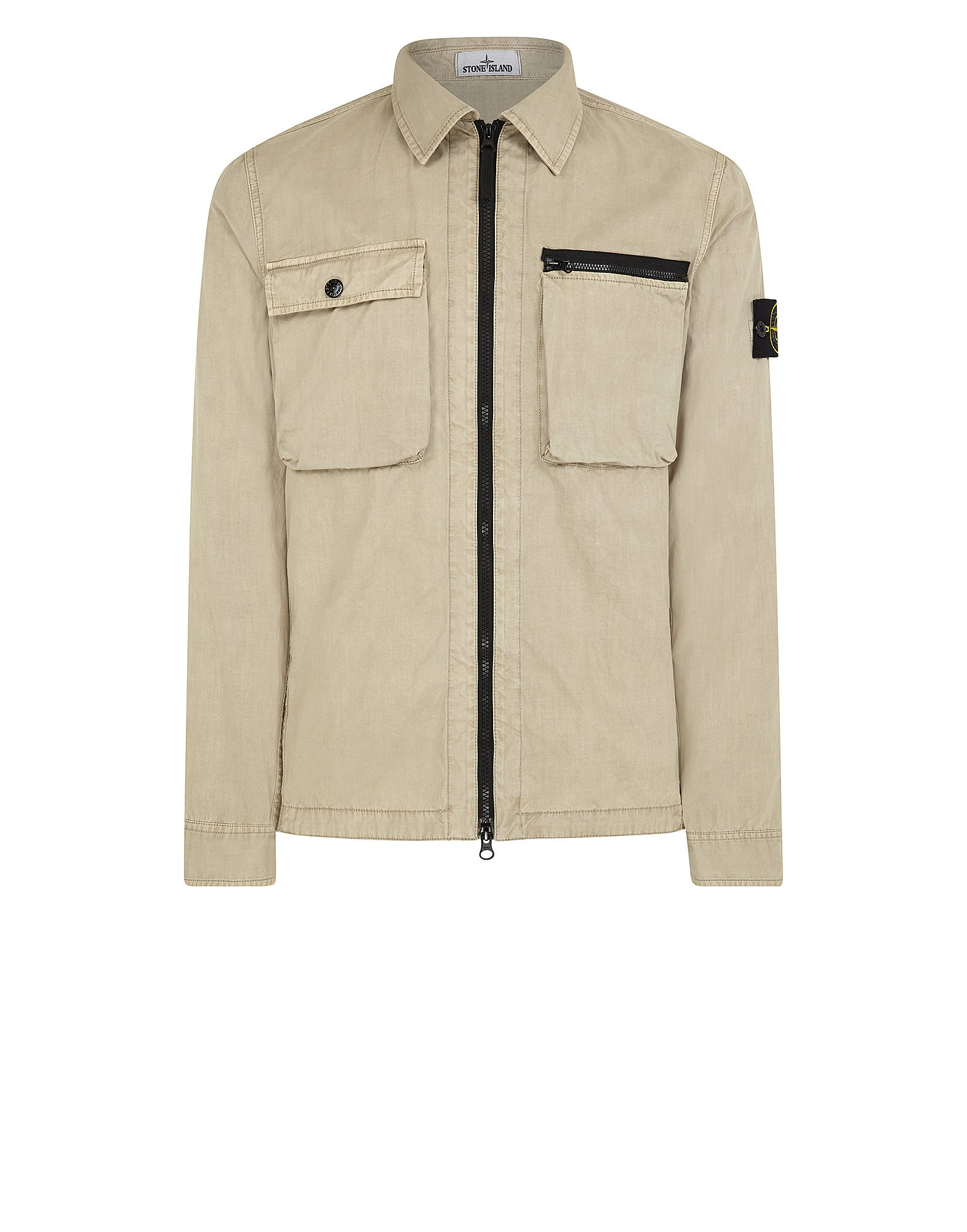101WN T.CO+OLD Overshirt in Beige