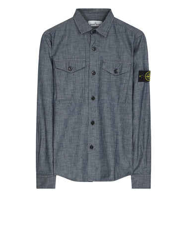 10512 Long Sleeve Shirt in Blue