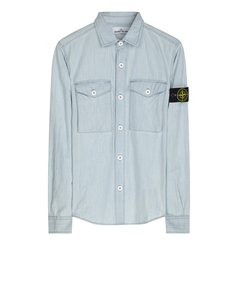 10513 Shirt in Light Blue