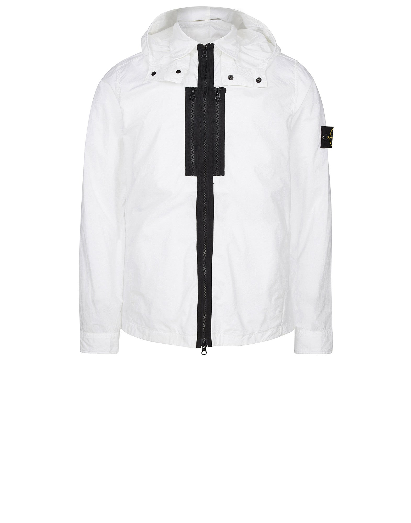 11110 Lightweight Tela Overshirt in White