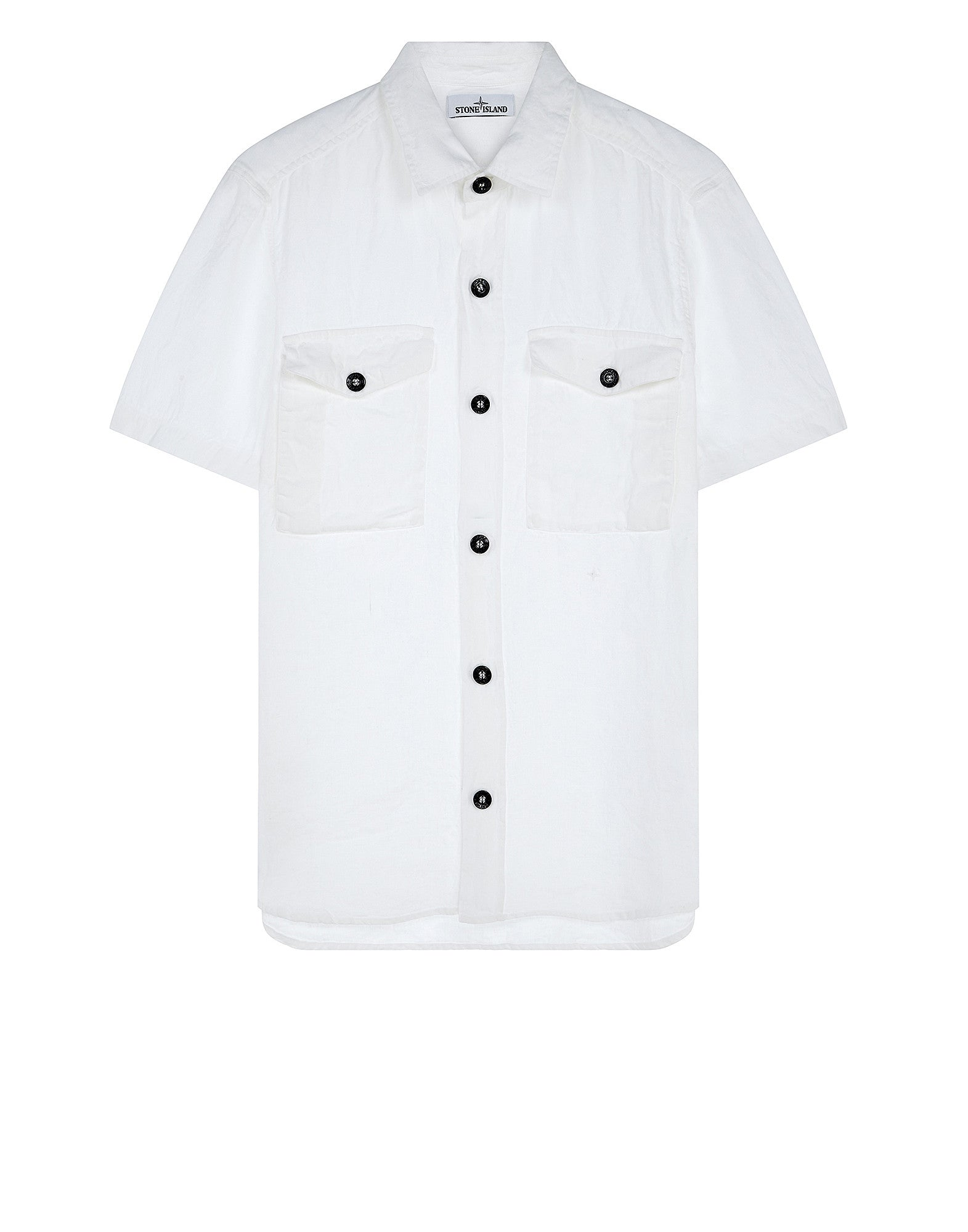 11501 Short Sleeve Shirt in White