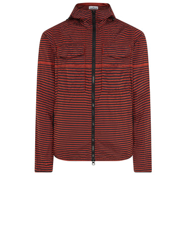 118X2 STONE ISLAND MARINA_NYLON METAL Overshirt in Red