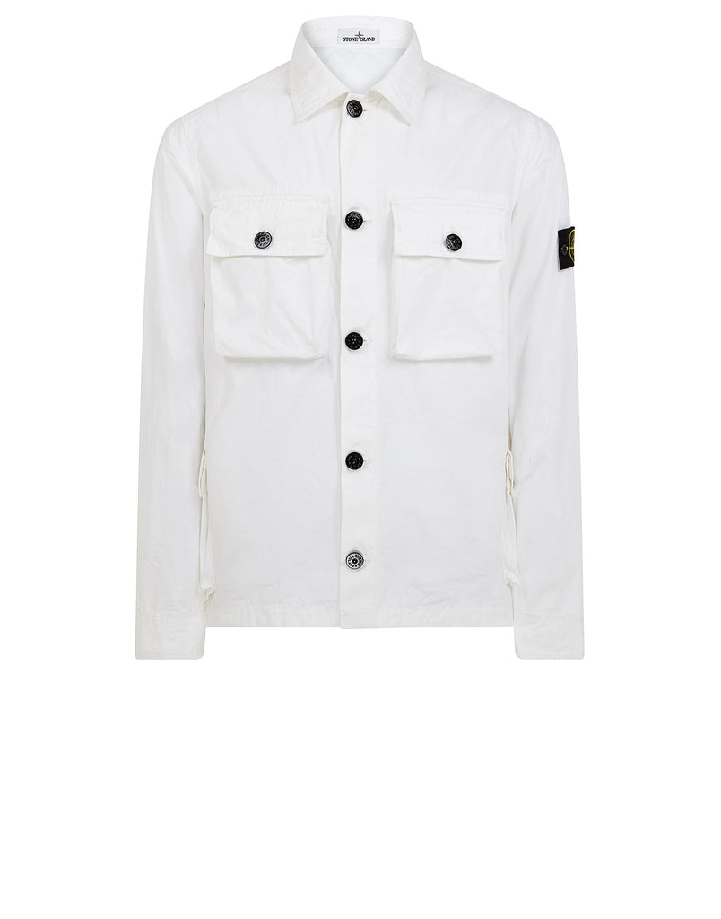 119WN T.CO+OLD Overshirt in White