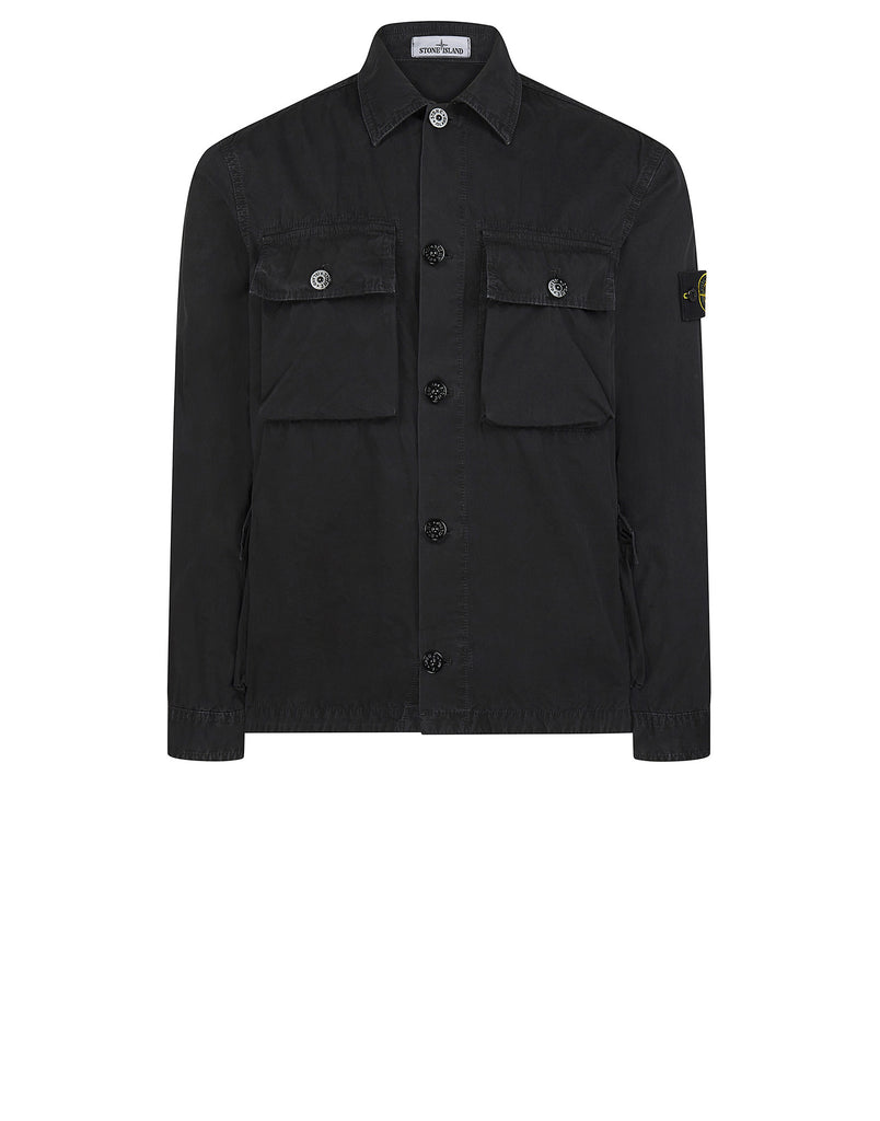 119WN T.CO+OLD Overshirt in Black
