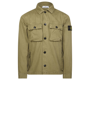 119WN T.CO+OLD Overshirt in Khaki