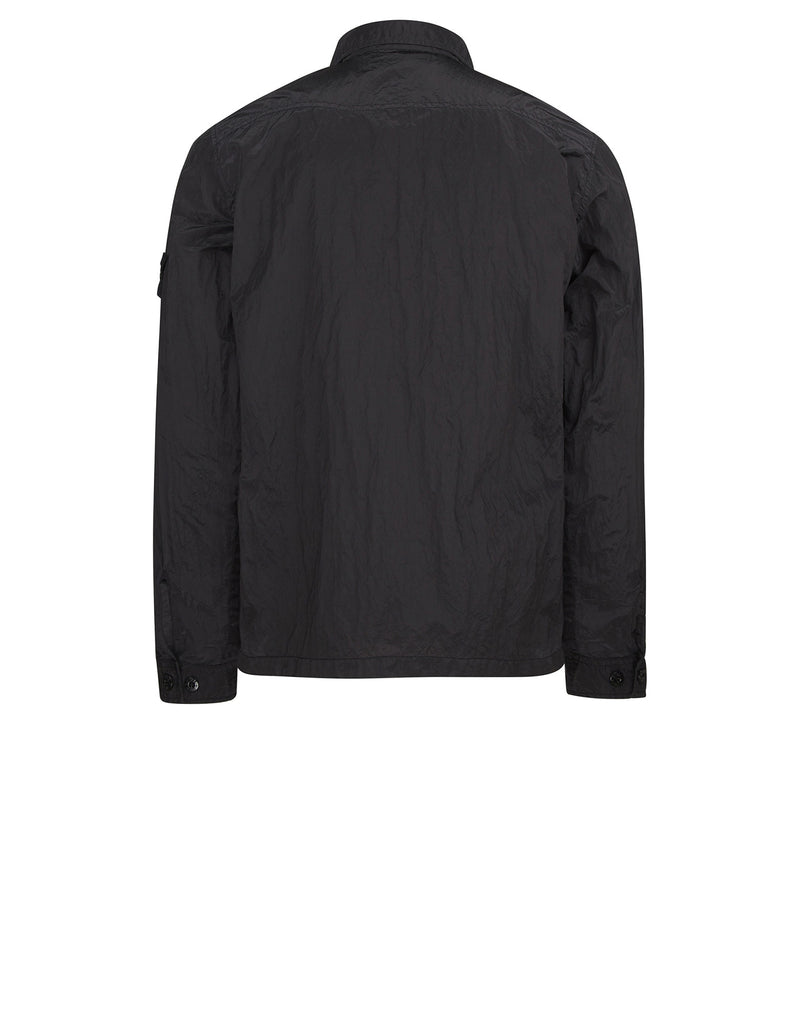 12144 NYLON METAL Overshirt in Charcoal