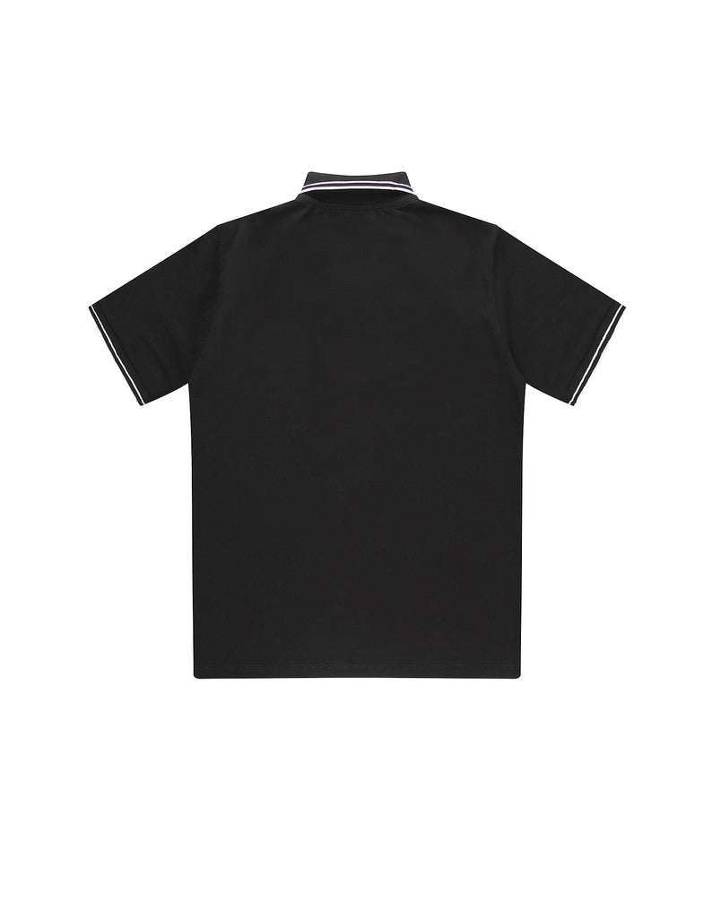 21348 Polo Shirt in Black