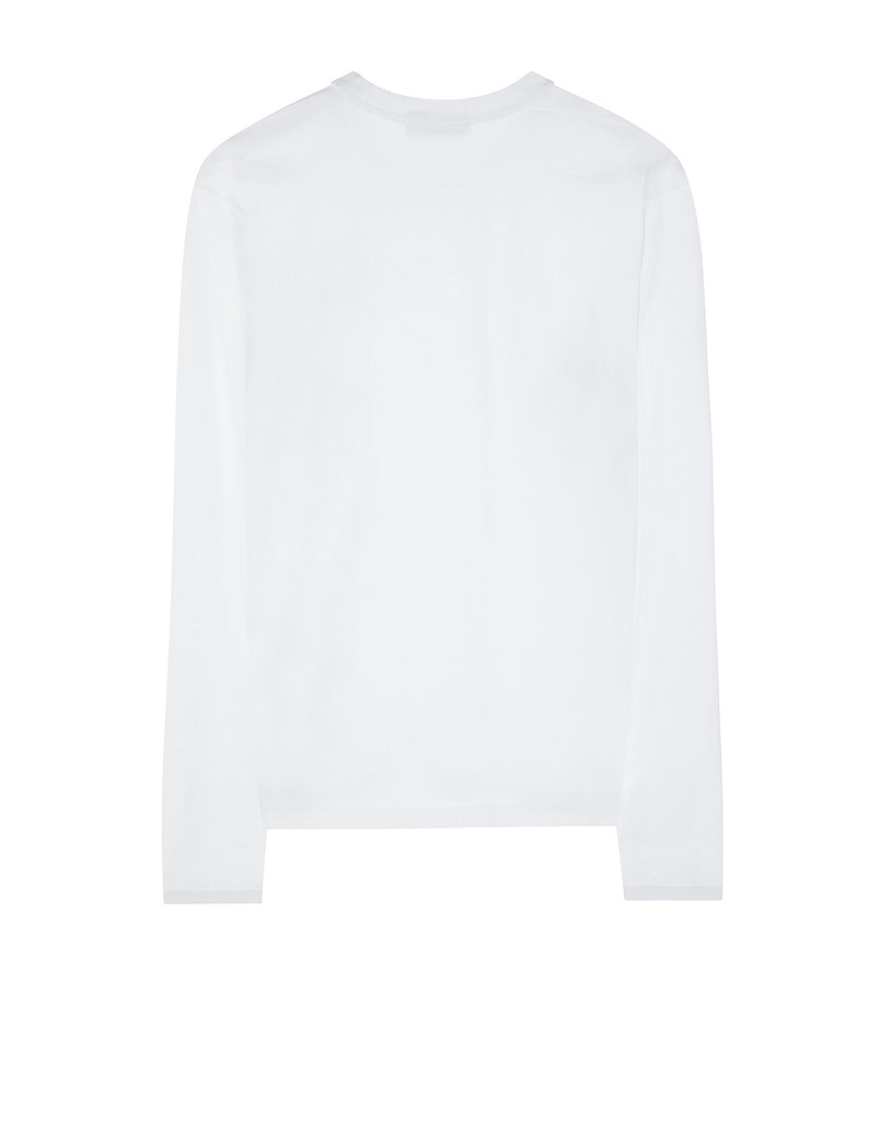 21641 Long sleeve T-Shirt in White