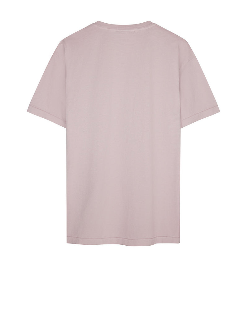 24141 Small Logo Patch T-Shirt in Pink