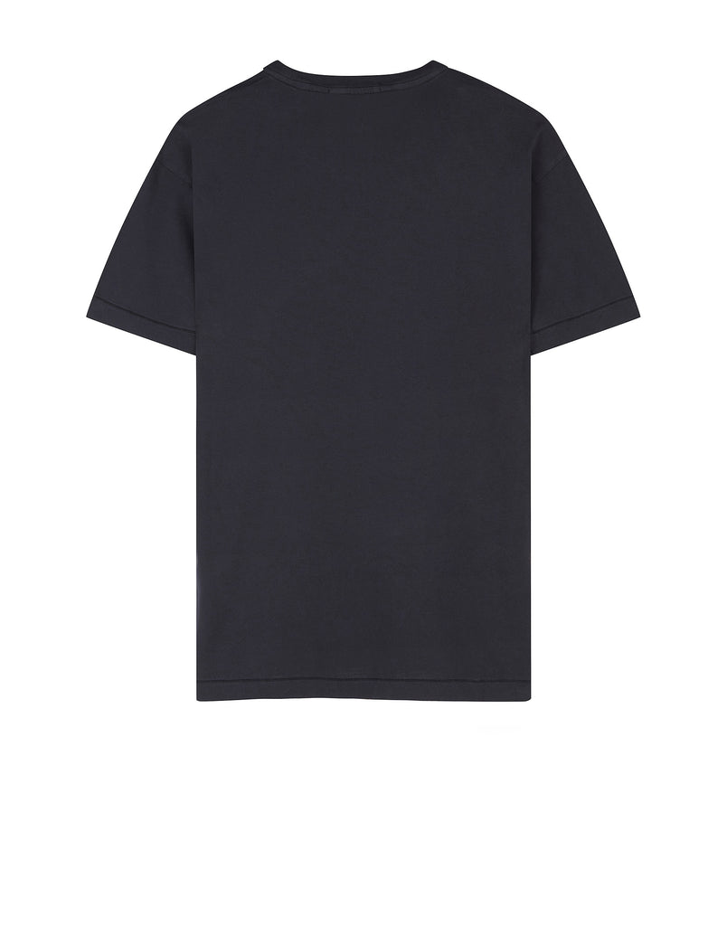 24141 Small Logo Patch T-Shirt in Navy