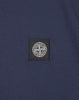 24141 Small Logo Patch T-Shirt in Marine Blue