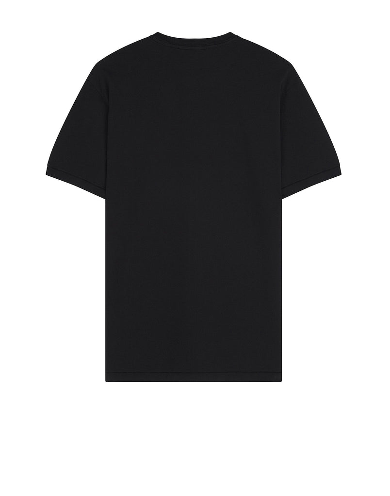 24141 Small Logo Patch T-Shirt in Black