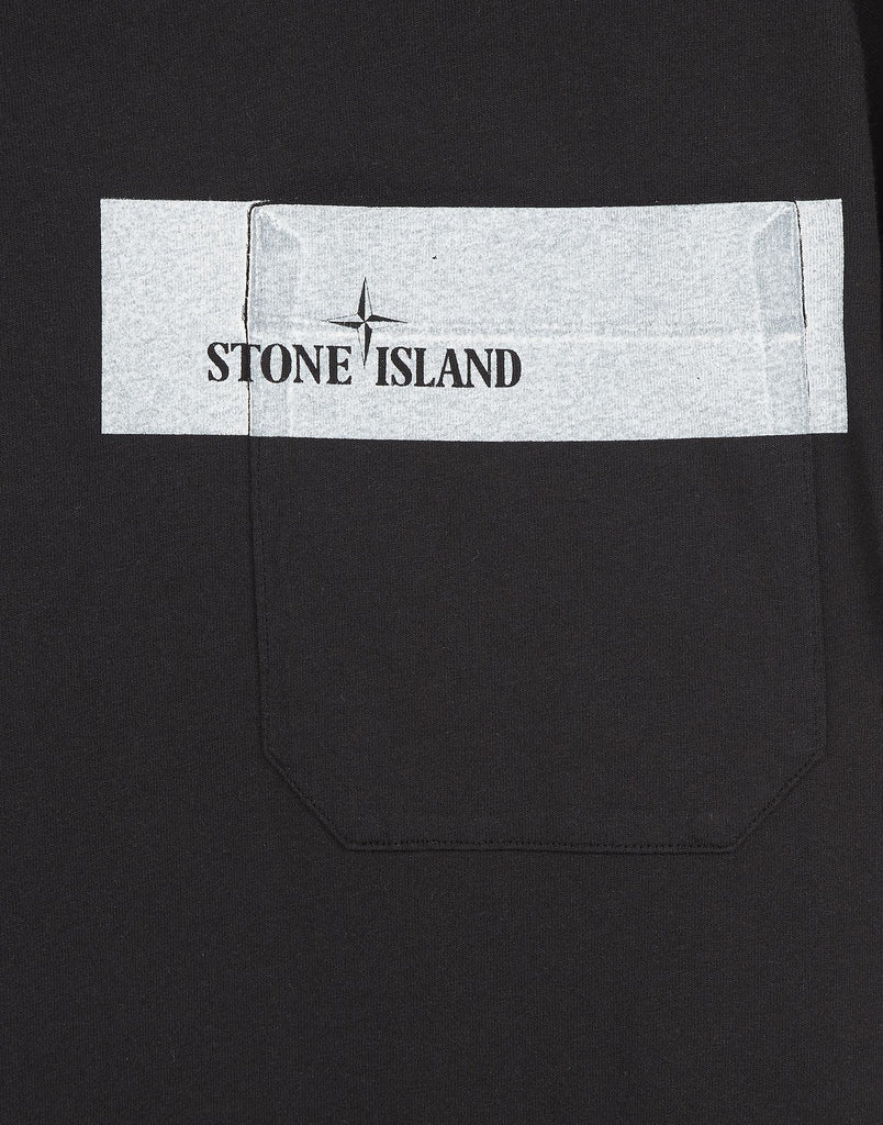 24285 Pocket T-Shirt in Black