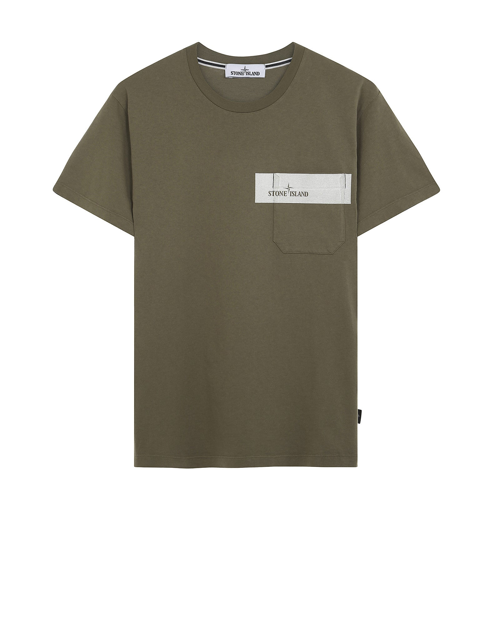 24285 Pocket T-Shirt in Khaki
