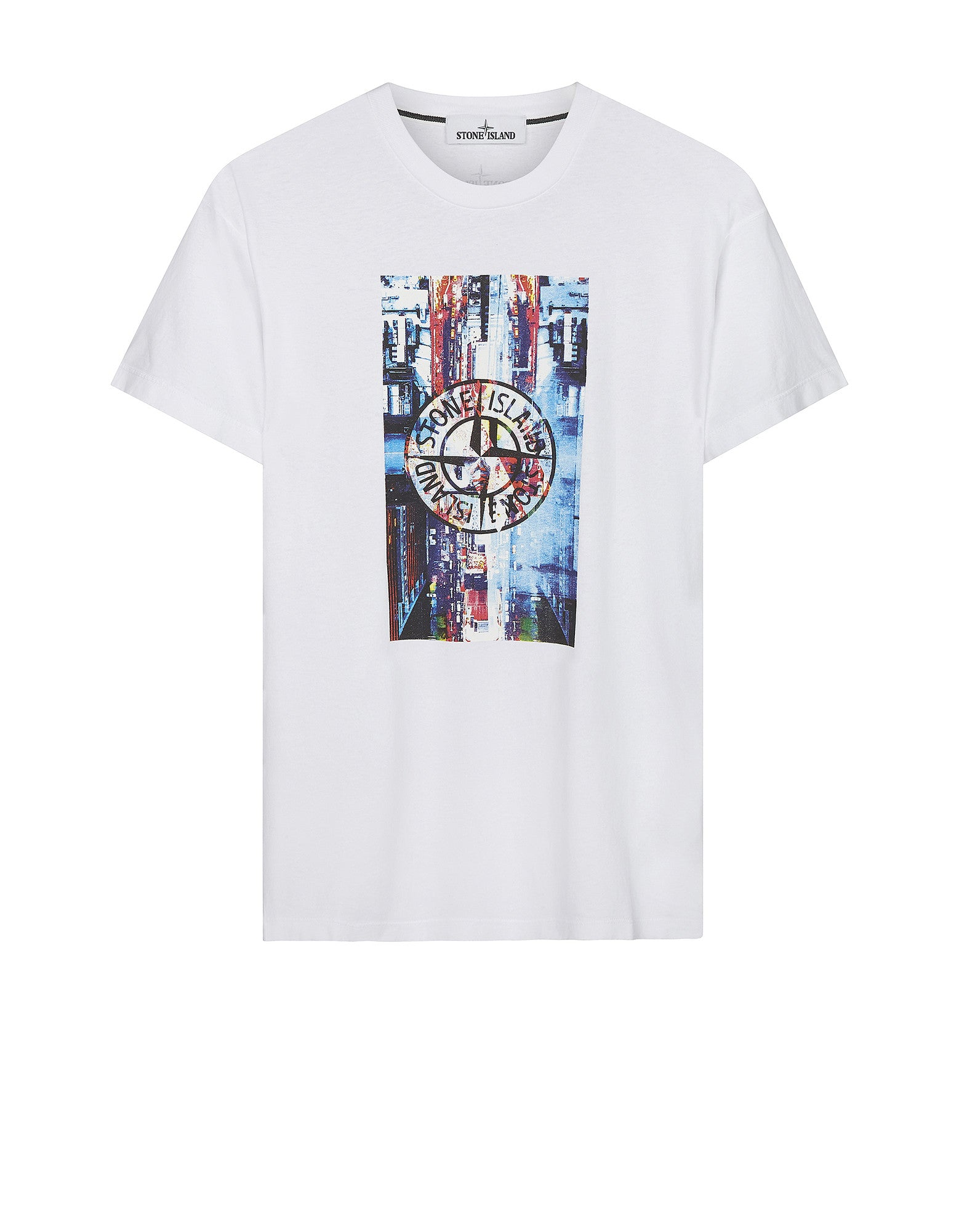2NS80 'DIGITAL PIN' T-Shirt in White