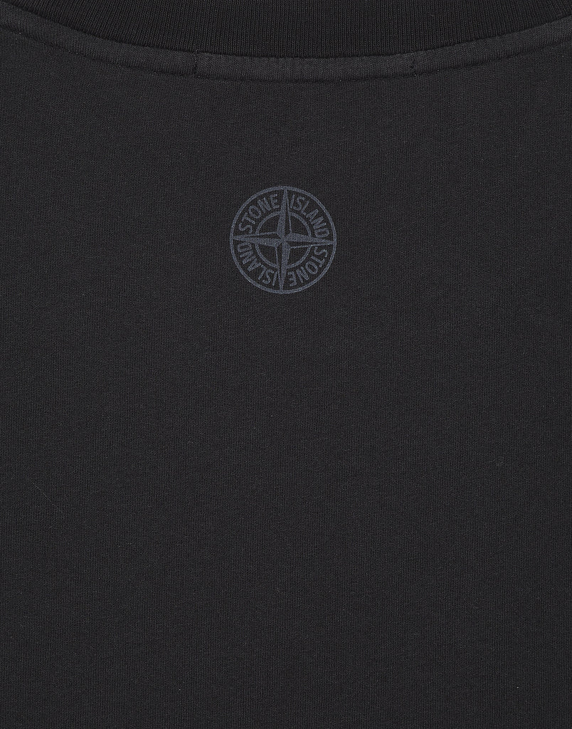 2NS83 'INSTITUTIONAL' T-shirt in Black