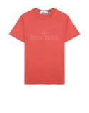 2NS83 'INSTITUTIONAL' T-Shirt in Coral