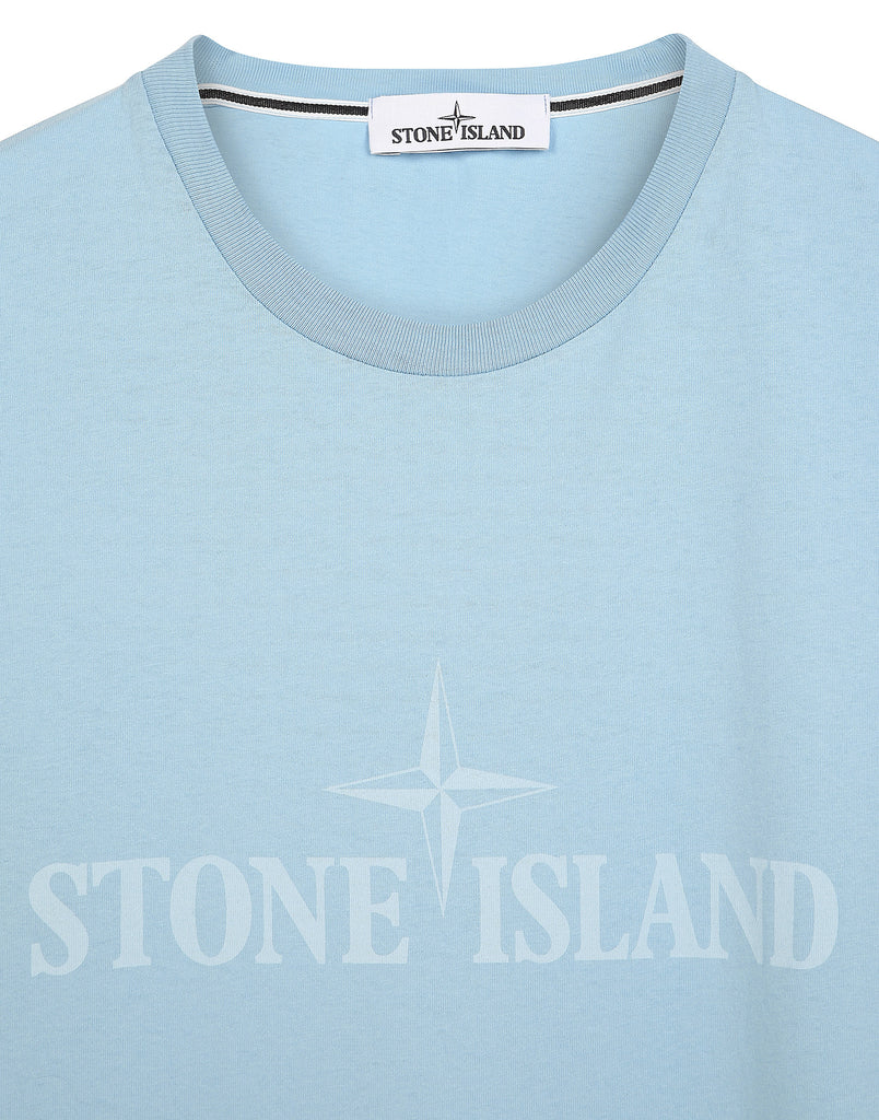 2NS83 'INSTITUTIONAL' T-Shirt in Blue