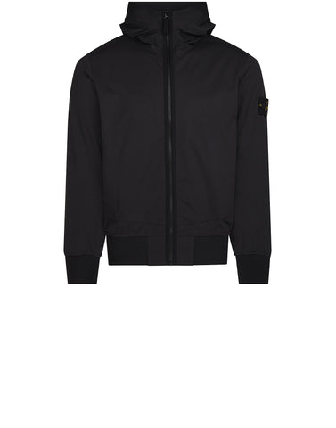 42026 LIGHT SOFT SHELL SI CHECK GRID Jacket in Black