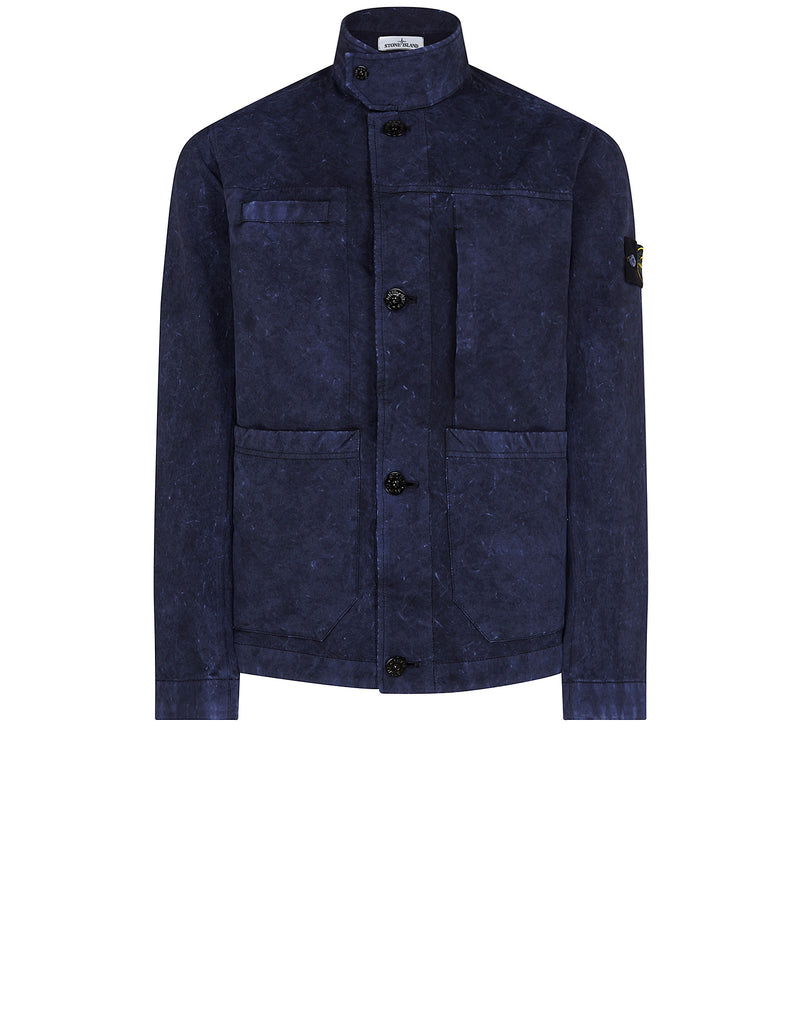 42950 DAVID-TC WITH DUST COLOUR TREATMENT Jacket in Blue