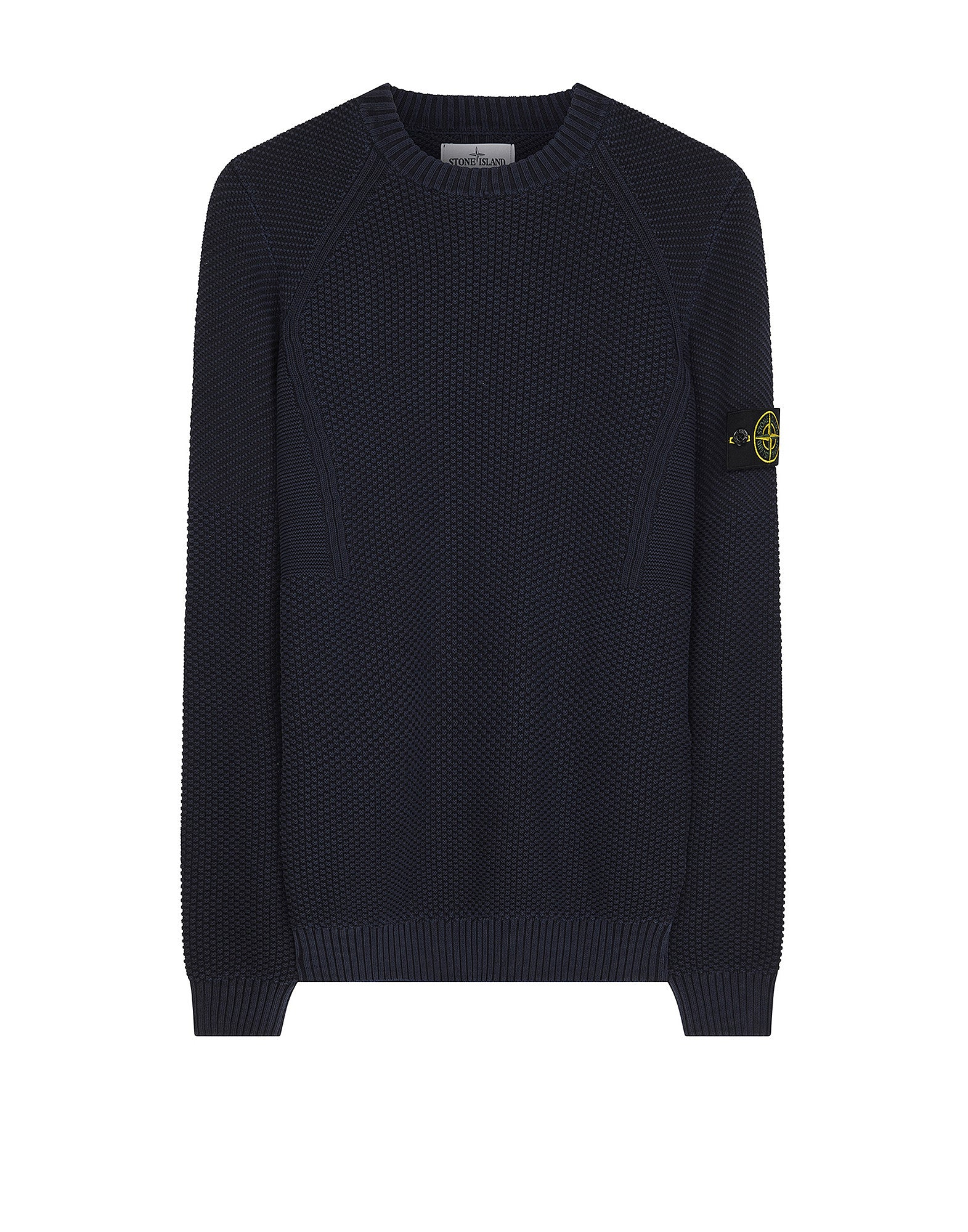 512B8 PIGMENT DYE Crewneck Knit in Navy