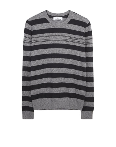 529XB STONE ISLAND MARINA Knit in Black
