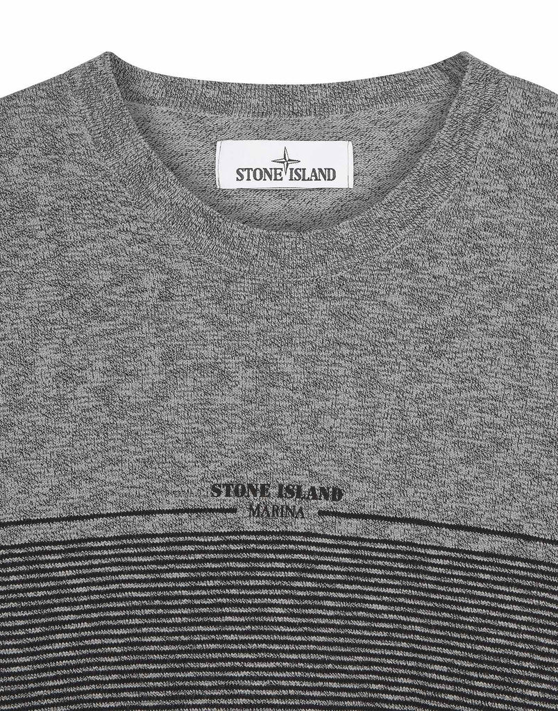 531XB STONE ISLAND MARINA T-Shirt Knit in Grey
