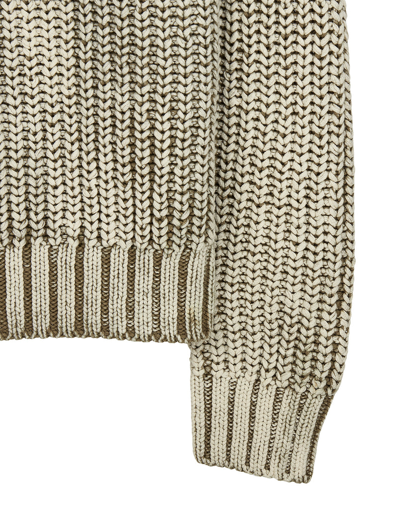 541A1 HAND CORROSION Knit in Khaki