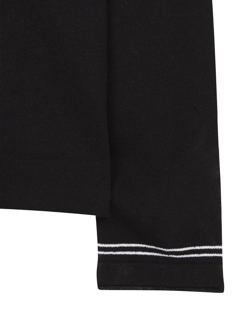 545B9 Lightweight Knit in Black