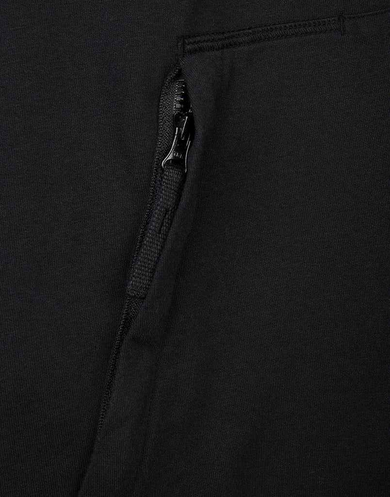60558 Hooded Sweatshirt in Black