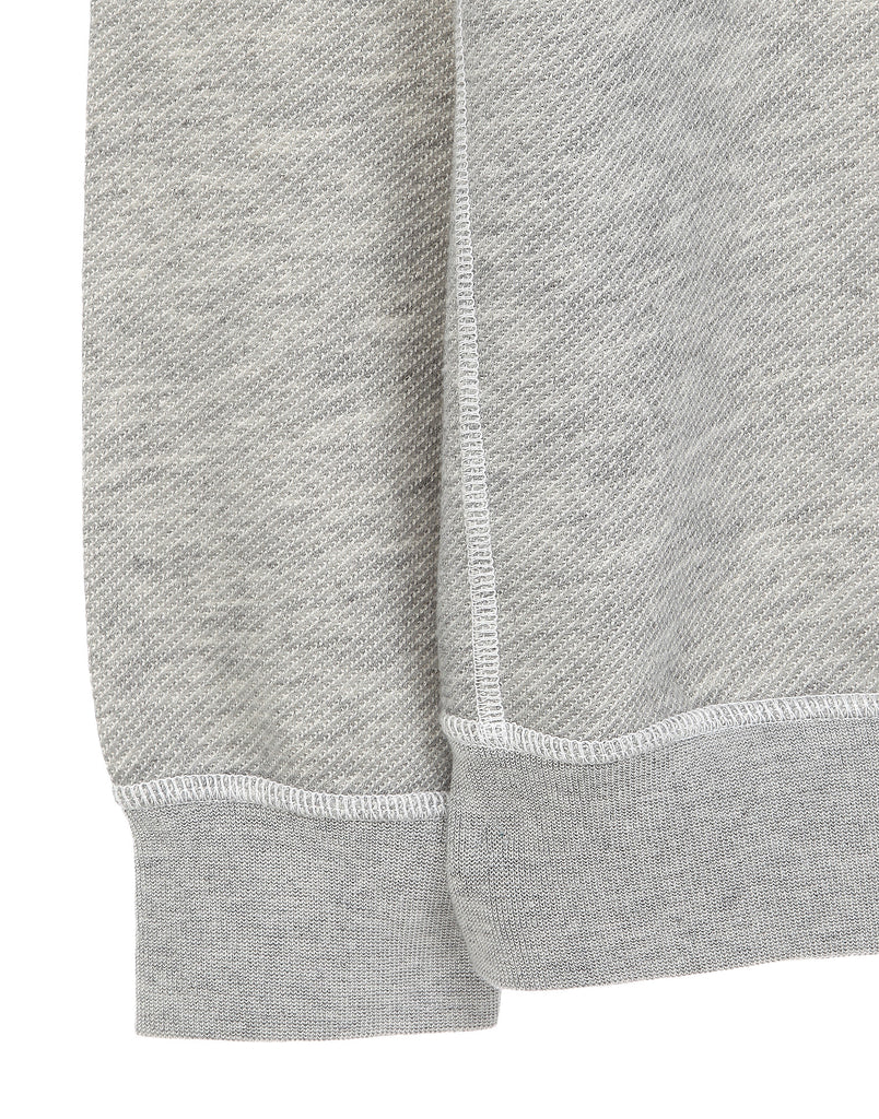 61654 Crew neck sweatshirt in Light Grey