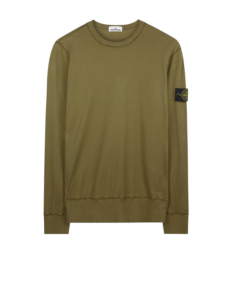 63656 Crewneck Sweatshirt in Khaki