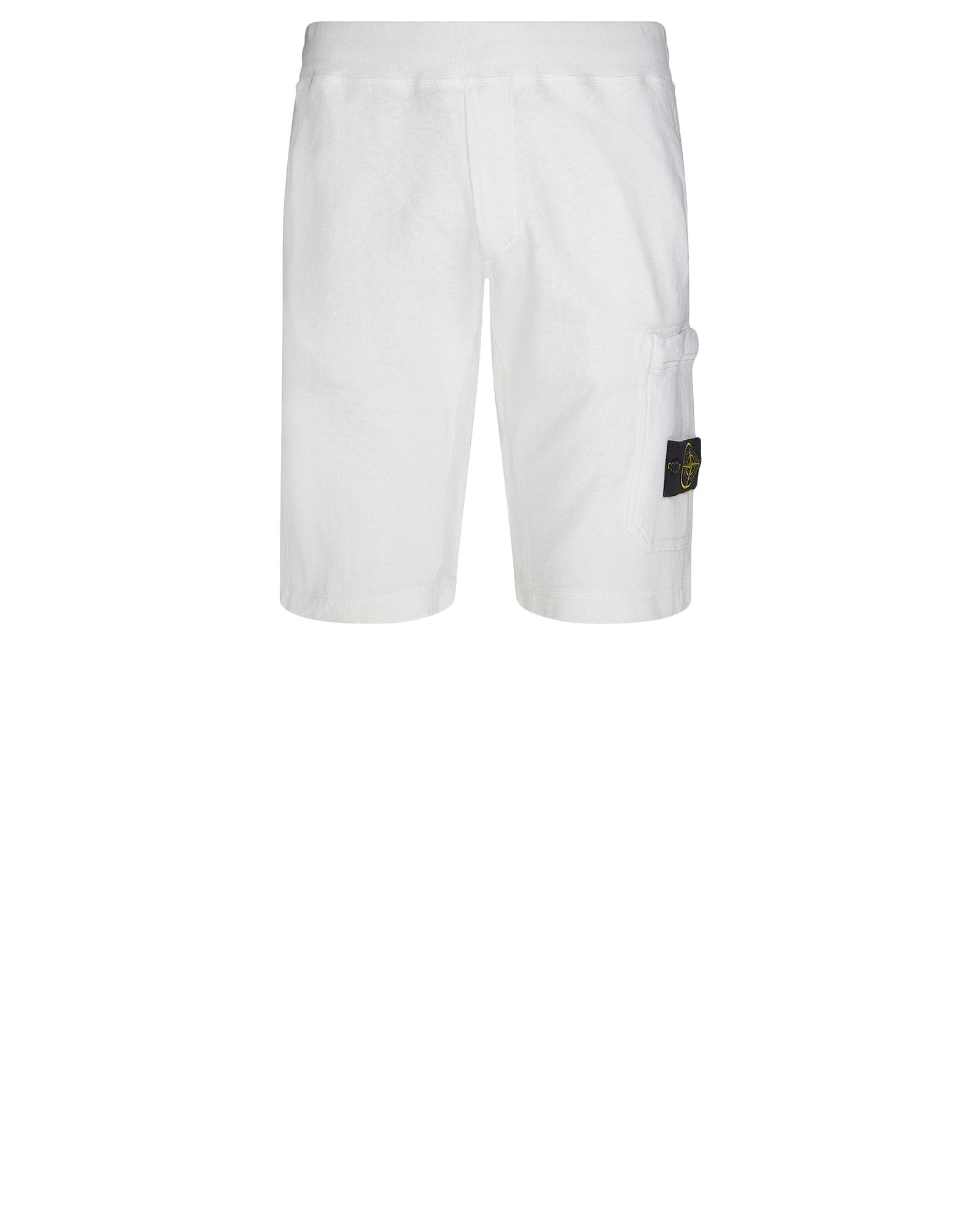 66360 T.CO+OLD Fleece Shorts in White