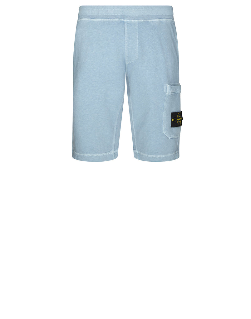 66360 T.CO+OLD Fleece Shorts in Light Blue